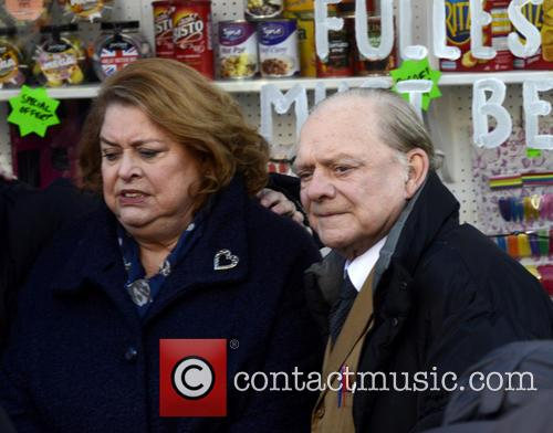 Lynda Barron and David Jason 1