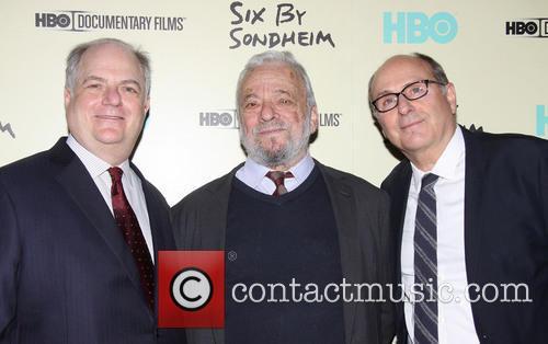 Frank Rich, Stephen Sondheim and James Lapine 2