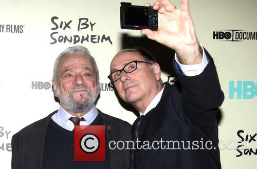 Stephen Sondheim and James Lapine 10