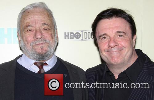 Stephen Sondheim and Nathan Lane 6