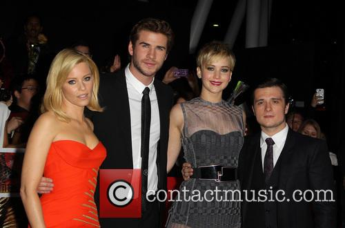 Elizabeth Banks, Liam Hemsworth, Jennifer Lawrence and Josh Hutcherson 13