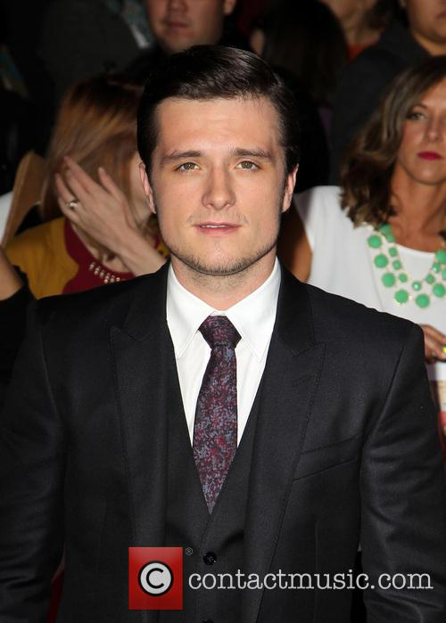 josh hutcherson the hunger games catching fire 3960093