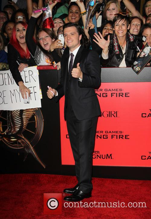 josh hutcherson the hunger games catching fire 3960110