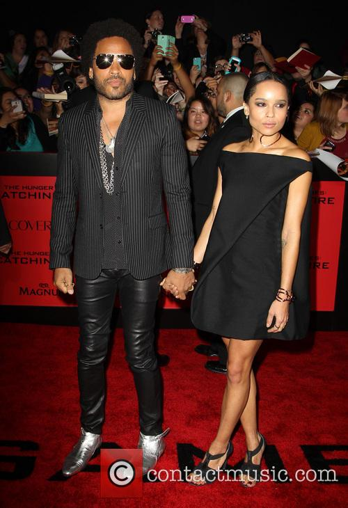 lenny kravitz zo kravitz the hunger games catching 3960113