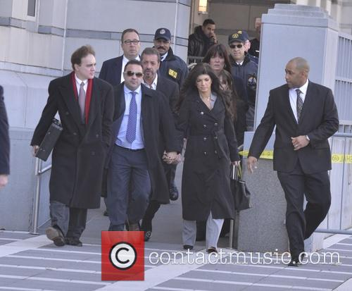 The Giudices arrive at Federal Court to face...