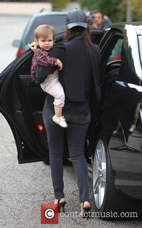 Kourtney Kardashian and Penelope Disick 8