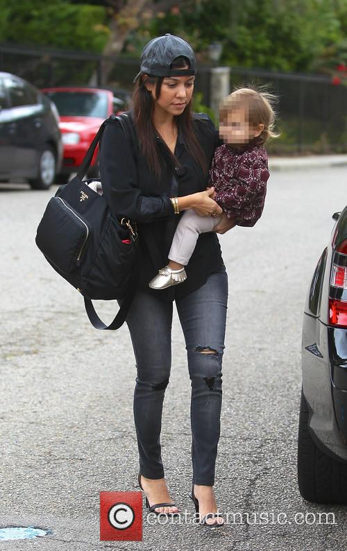 Kourtney Kardashian and Penelope Disick 9