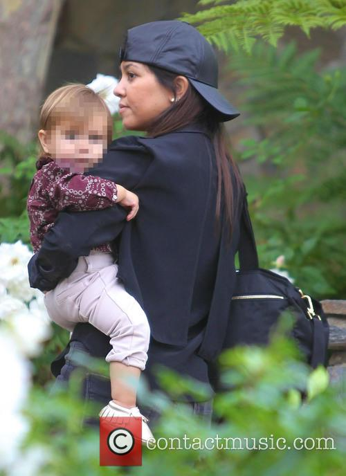 Kourtney Kardashian and Penelope Disick 11