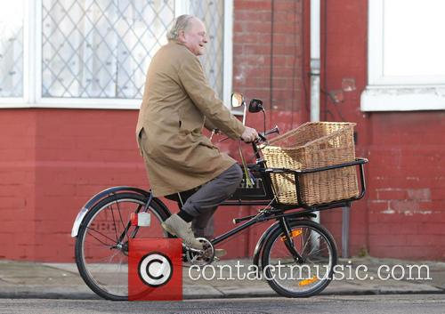 Filming takes place for Open All Hours