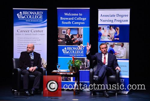 Robert F. Kennedy, Jr. speaks at Broward College-South...