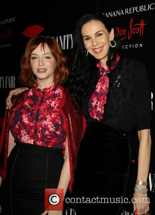 Christina Hendricks and L'wren Scott 3
