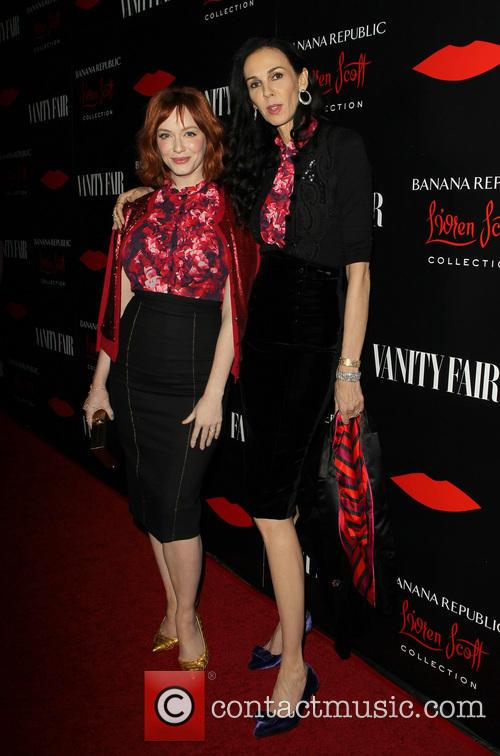 Christina Hendricks and L'wren Scott 7