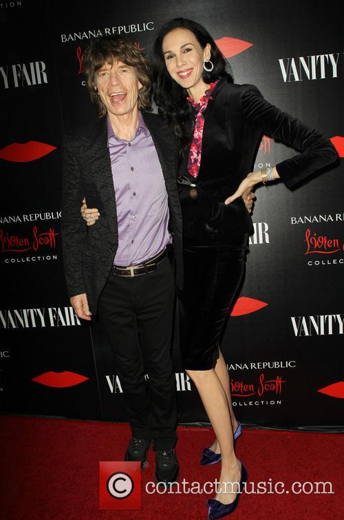 Mick Jagger and L'wren Scott 7