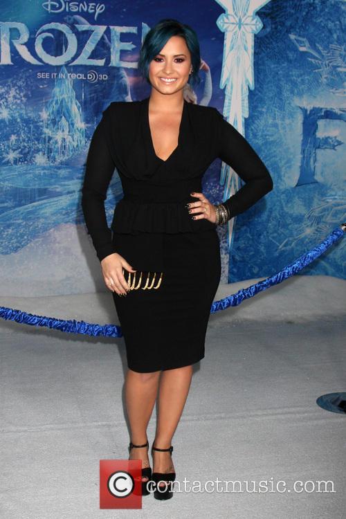 Demi Lovato, Frozen Premiere