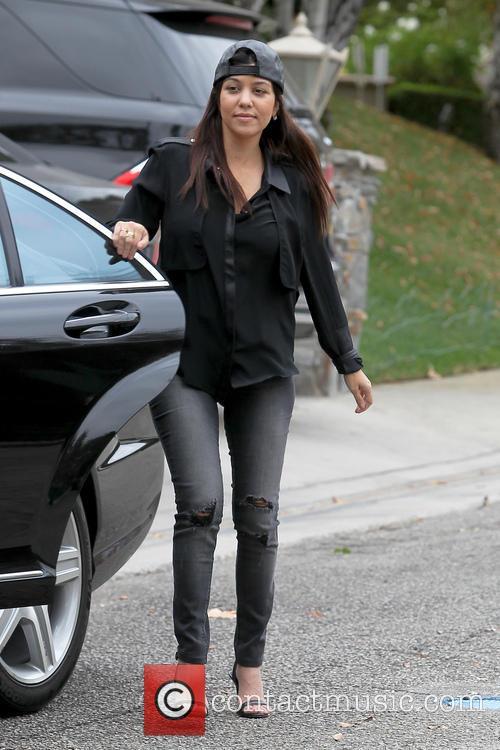Kourtney Kardashian And Daughter Go To Baby Class