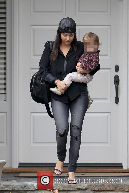 Kourtney Kardashian and Penelope Disic 2