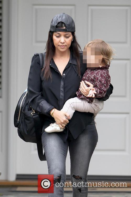 Kourtney Kardashian and Penelope Disic 3