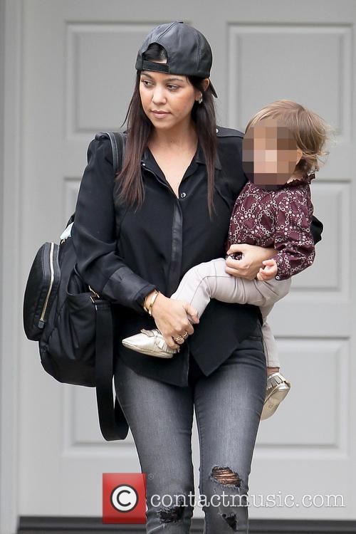 Kourtney Kardashian and Penelope Disic 5