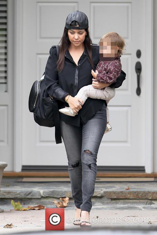 Kourtney Kardashian and Penelope Disic 9