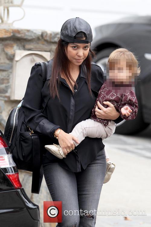 Kourtney Kardashian and Penelope Disic 10