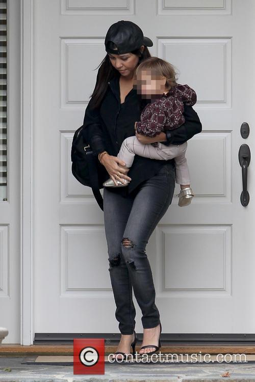Kourtney Kardashian and Penelope Disic 11