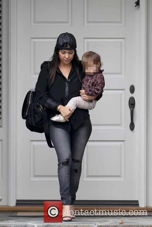 Kourtney Kardashian and Penelope Disic 12
