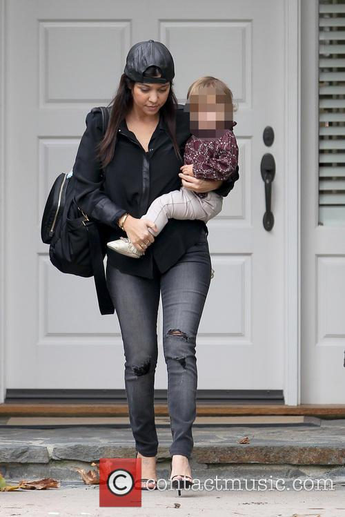Kourtney Kardashian and Penelope Disic 1
