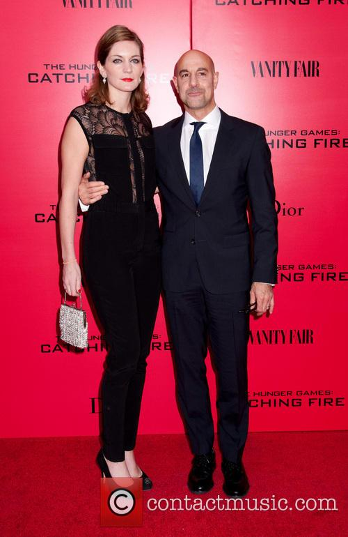 Stanley Tucci and Wife 2