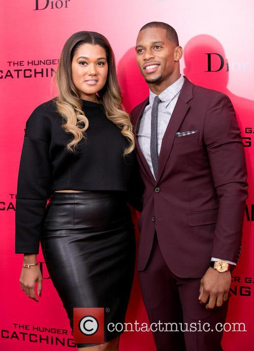 Victor Cruz and Wife 9