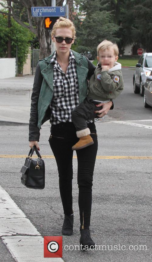January Jones and Xander 2