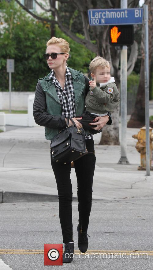 January Jones and Xander 9