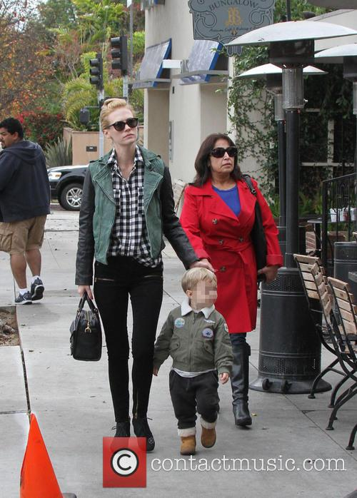 January Jones and Xander 14