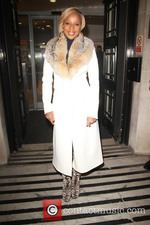 Mary J Blige At BBC Radio 2