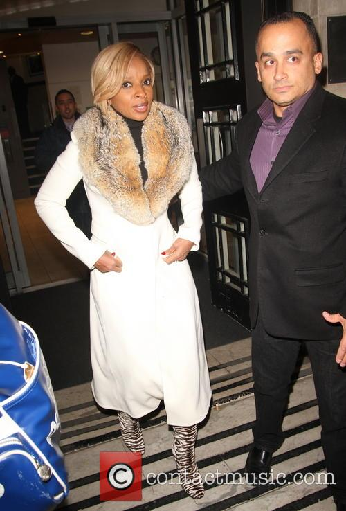 Mary J Blige At BBC Radio 2