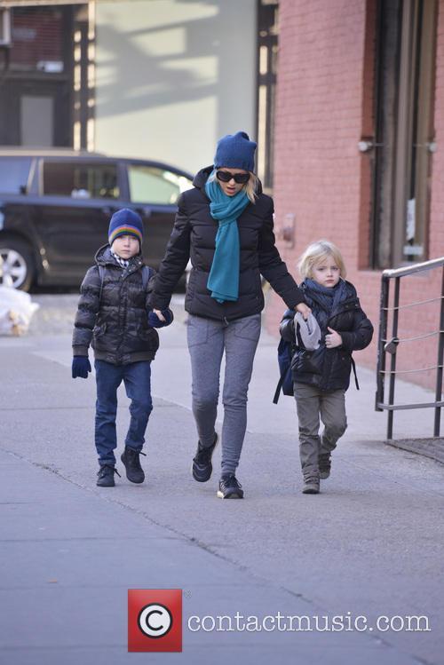 Naomi Watts, Samuel Schreiber and Alexander Schreiber 3
