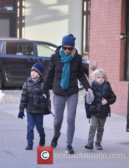 Naomi Watts, Samuel Schreiber and Alexander Schreiber 17