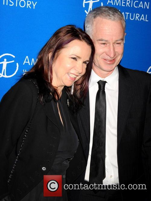 John Mcenroe and Patti Smith 2