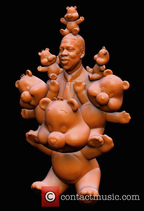 Jay Z depicted as 'Care Bear Pal'