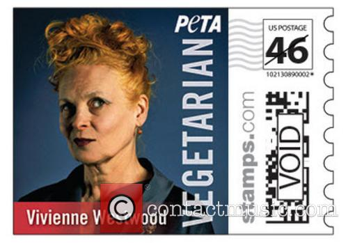 Vivienne Westwood, Paul, Stella Mccartney Star and Vegetarian Icon' Stamps 2