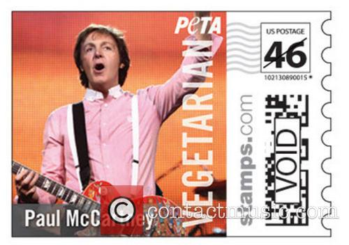 Vivienne Westwood, Paul, Stella McCartney Star and Vegetarian Icon' Stamps 19