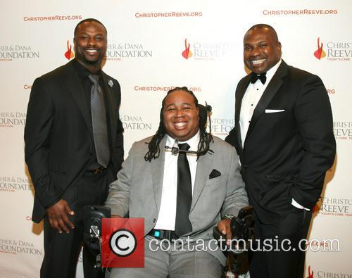 Dana Reeve, Bart Scott, Eric Legrand and Kerwin Rigaud