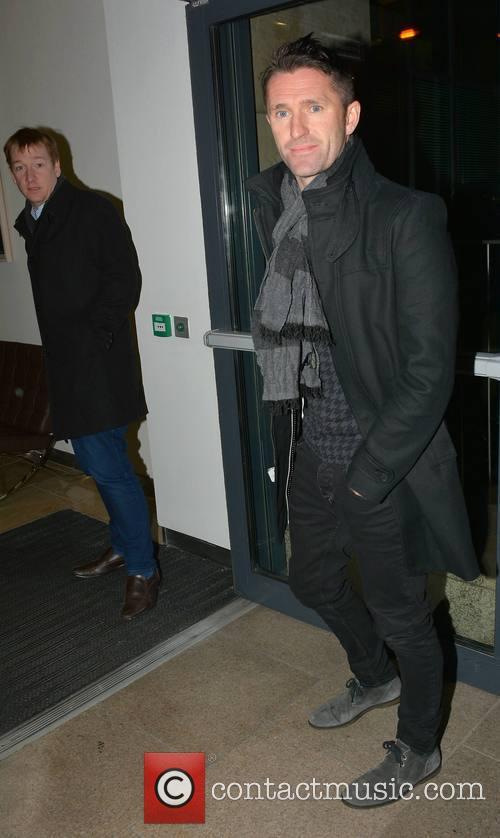 Robbie Keane at  Newstalk
