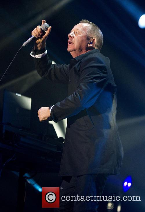 Simple Minds perform live in concert
