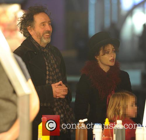 Tim Burton and Helena Bonham Carter 4