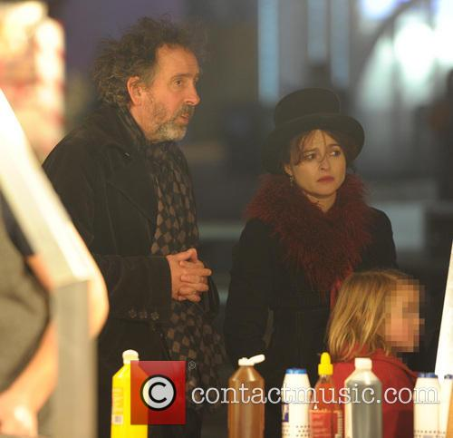 Tim Burton and Helena Bonham Carter 8