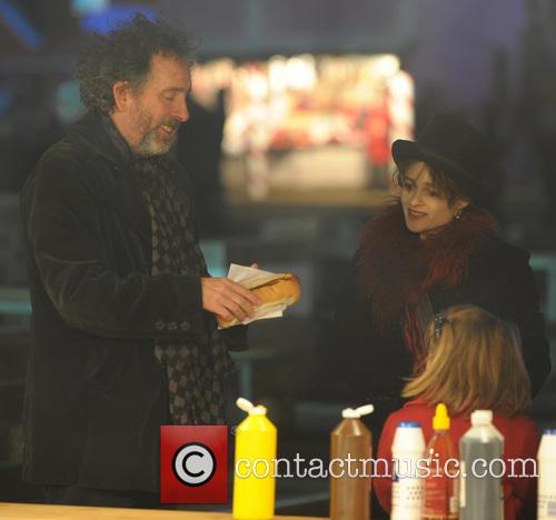 Tim Burton and Helena Bonham Carter 9