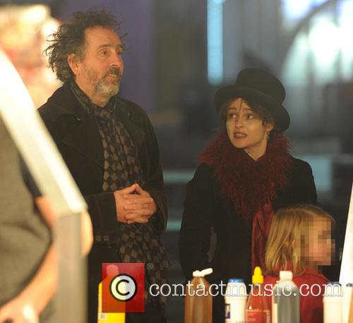 Tim Burton and Helena Bonham Carter 10