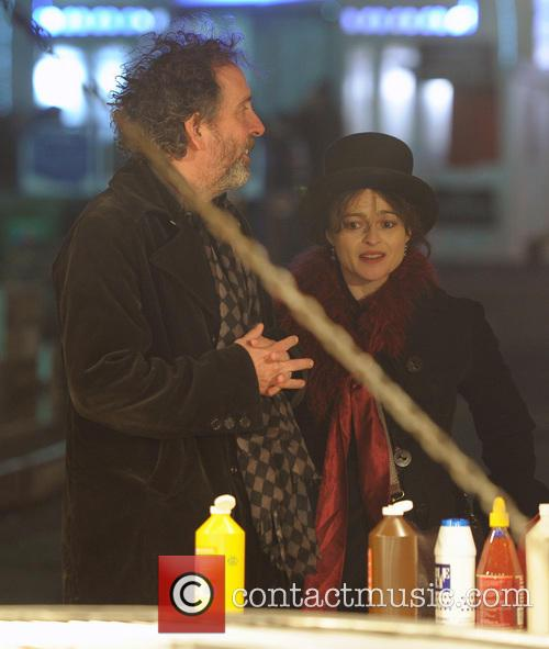 Tim Burton and Helena Bonham Carter 13