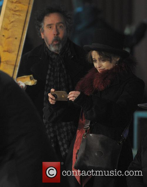 Tim Burton and Helena Bonham Carter 14