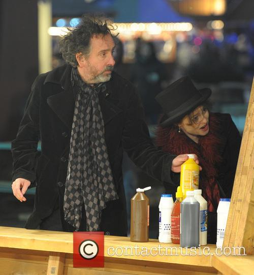 Tim Burton and Helena Bonham Carter 16